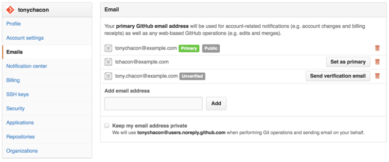 Add all your email addresses.