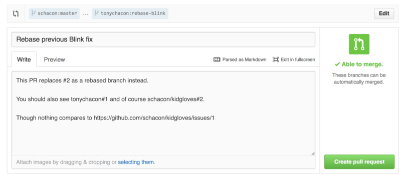 Cross references в Pull Request
